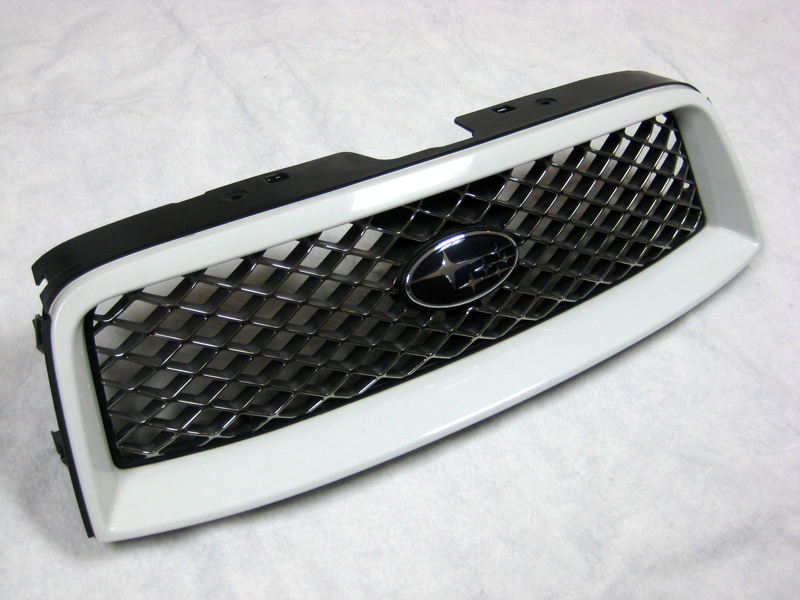 (03-05) JDM Forester - Cross Sports Grille (White)